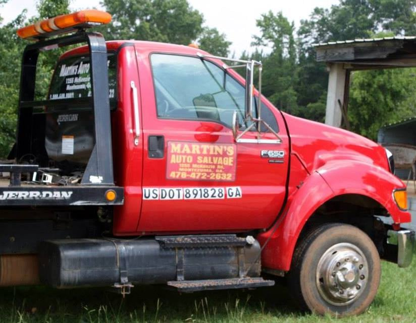 Martin's Auto Salvage: 1255 McKenzie Rd, Montezuma, GA