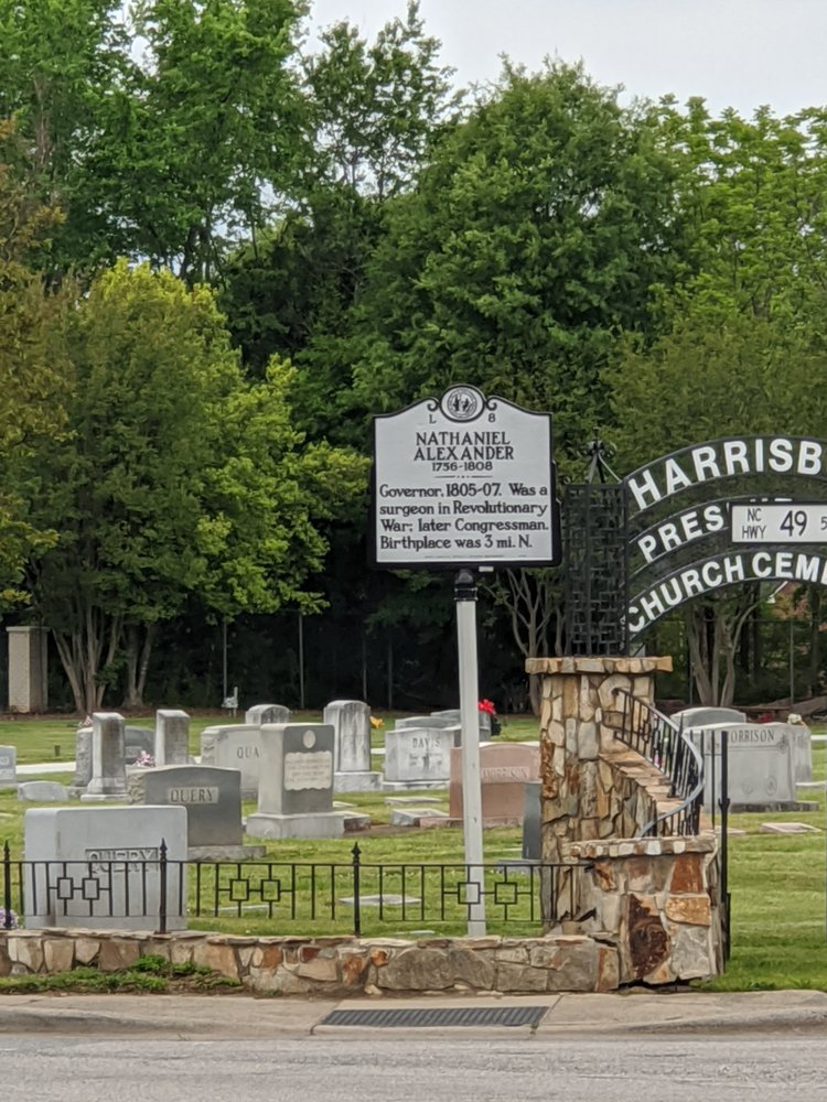 Nathaniel Alexander Historical Marker: NC-49 & Morehead Rd, Harrisburg, NC