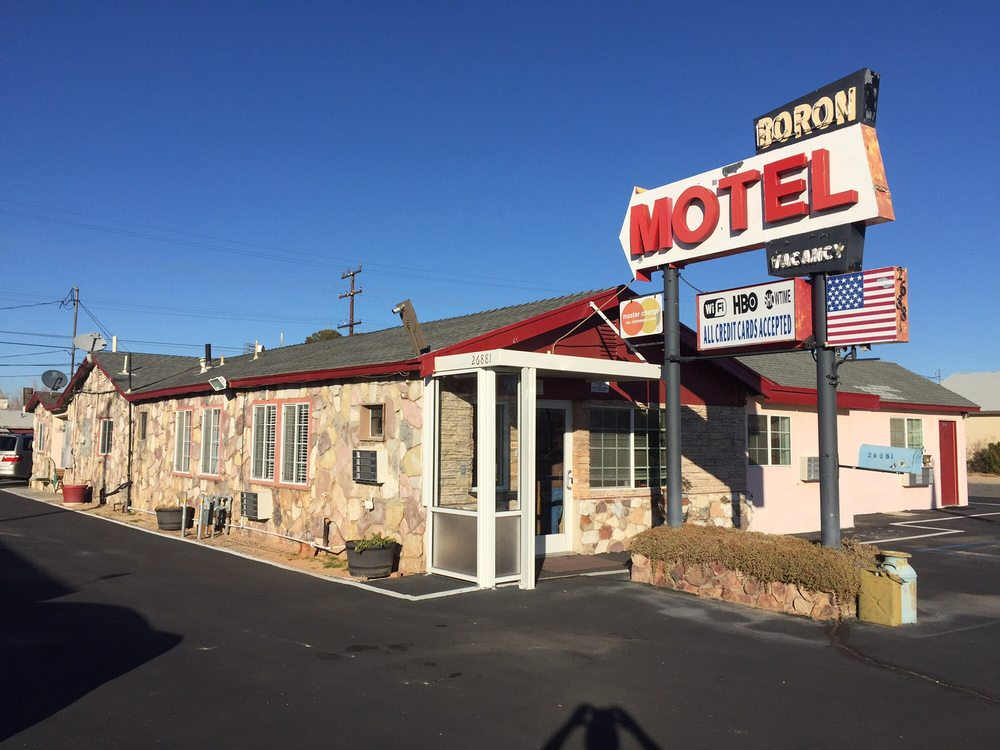 Boron Motel: 26881 Twenty Mule Team Rd, Boron, CA