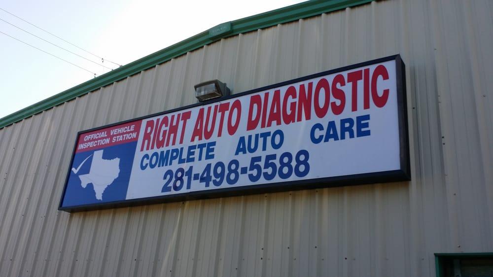 Right Auto Diagnostic: 10720 S Kirkwood Rd, Houston, TX