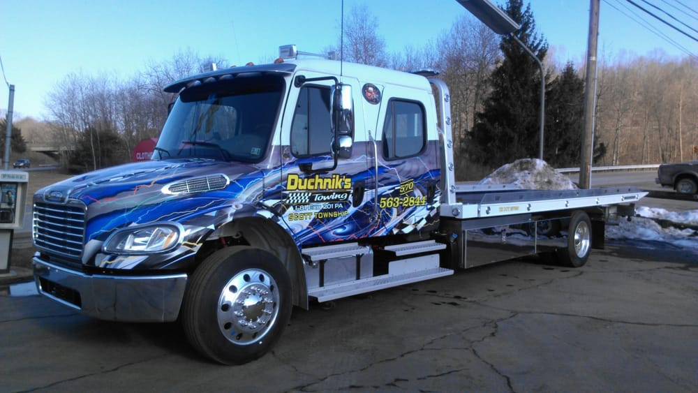 Towing business in Scott, PA