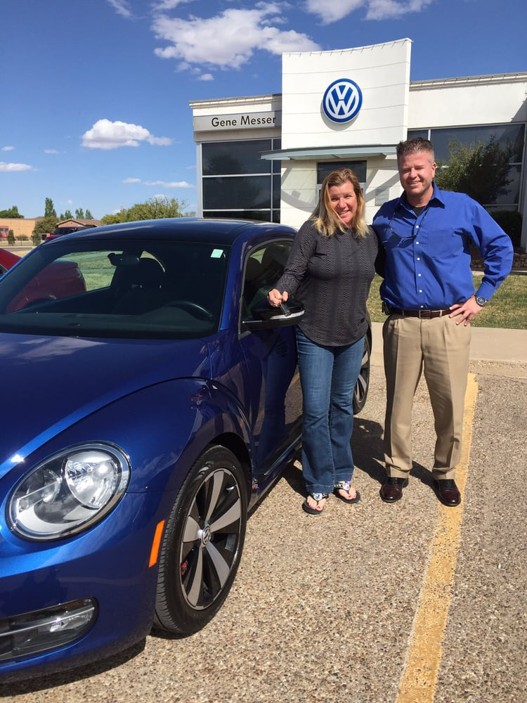 With Kyle Hind and my new ride from Gene Messer VW Lubbock. - Yelp