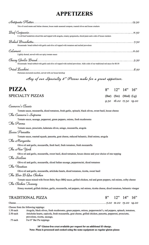 Neenah Italian Restaurants