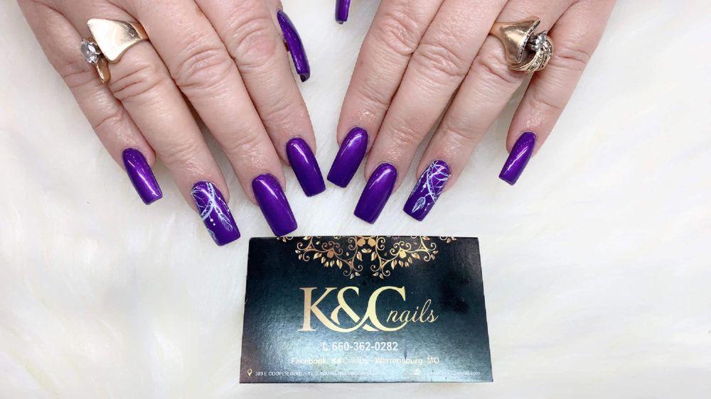 K&C nails: 303 E Cooper Blvd, Warrensburg, MO