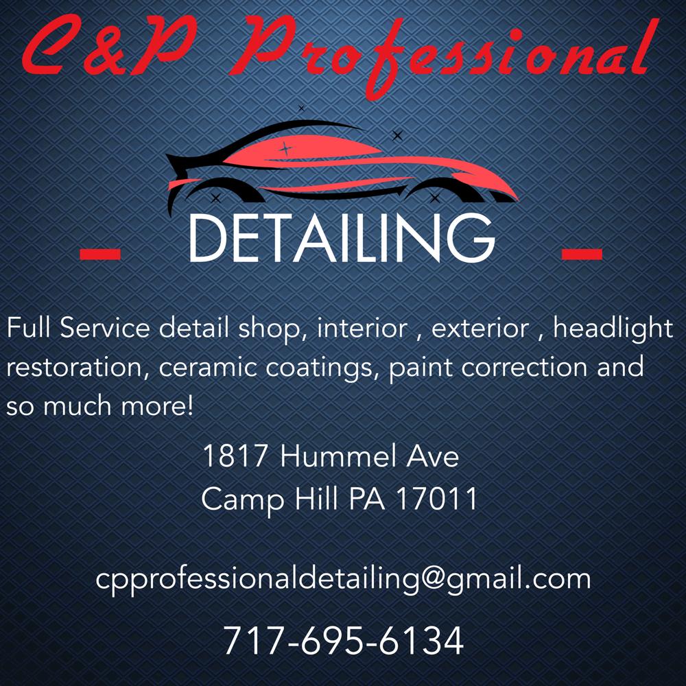 C&P Professional Detailing: 1817 Hummel Ave, Camp Hill, PA