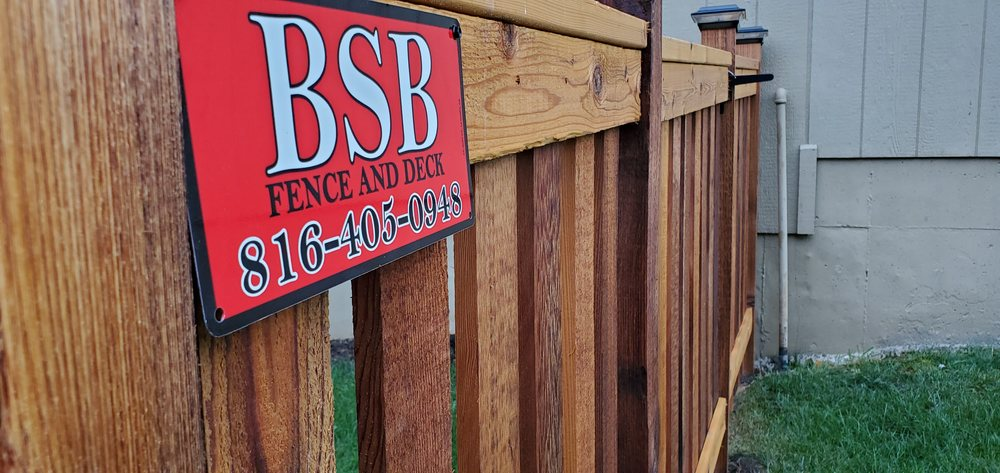 BSB Fence and Deck: Pleasant Hill, MO