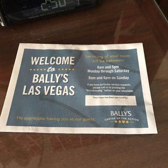 ballys casino las vegas phone number