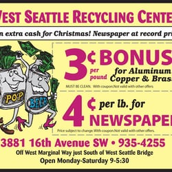 75002bc469 West Seattle Recycling - Recycling Center - 3881 16th Ave SW ...
