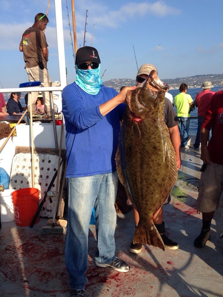 A large halibut won the jackpot yelp for Seaforth landing fish report