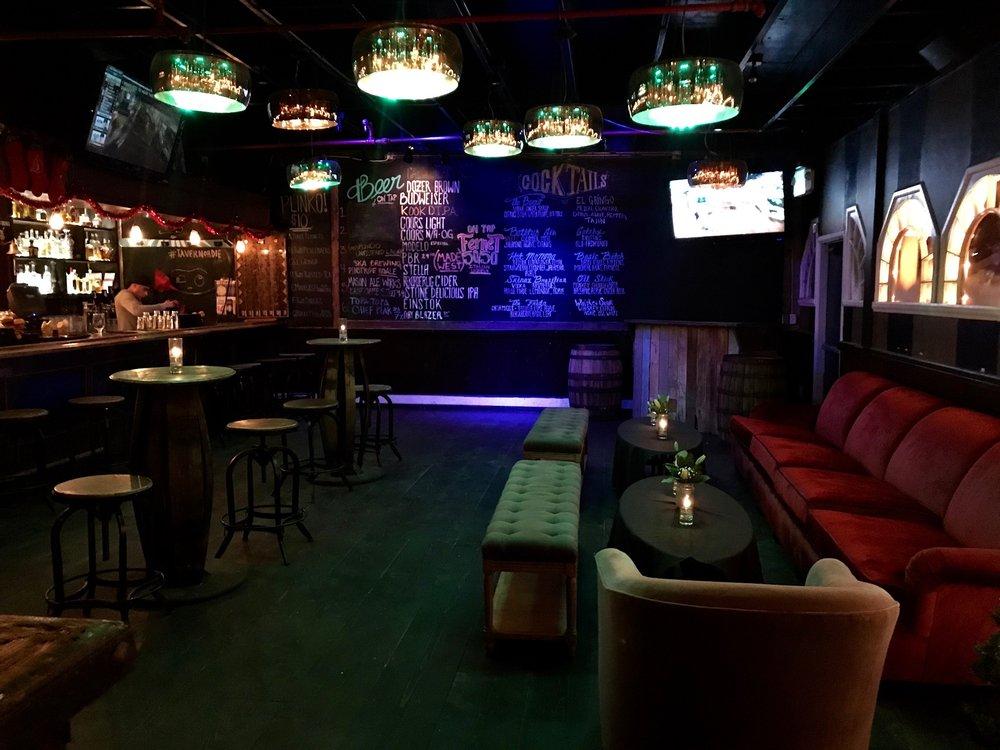 the tavern indoors