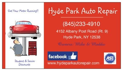Hyde Park Auto Repair: 4152 Albany Post Rd, Hyde Park, NY