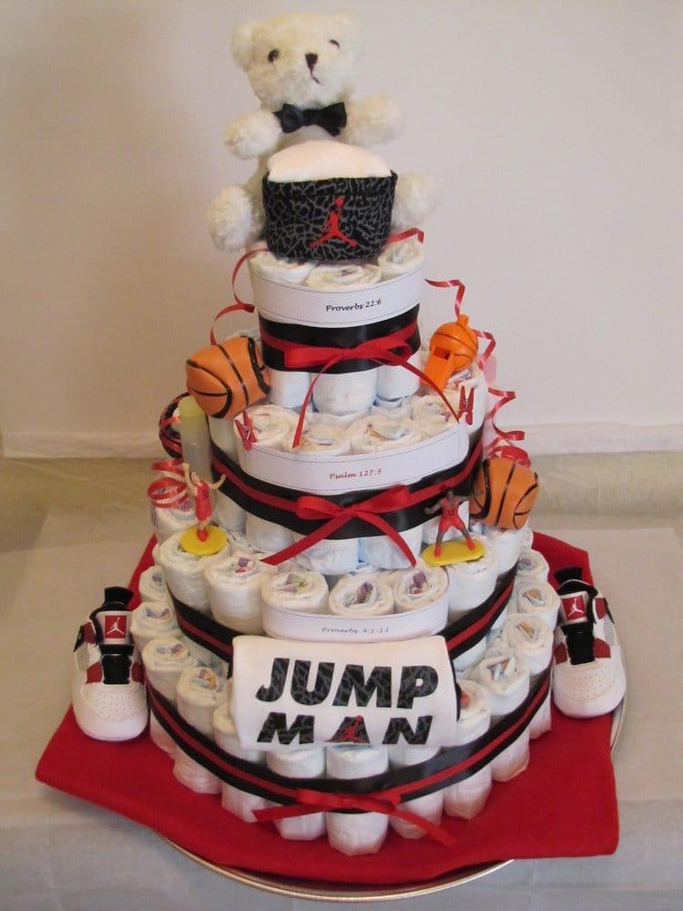 4576eb60a0e3 ... Air Jordan Diaper Cake - Yelp  NIke Jordan Baby ...