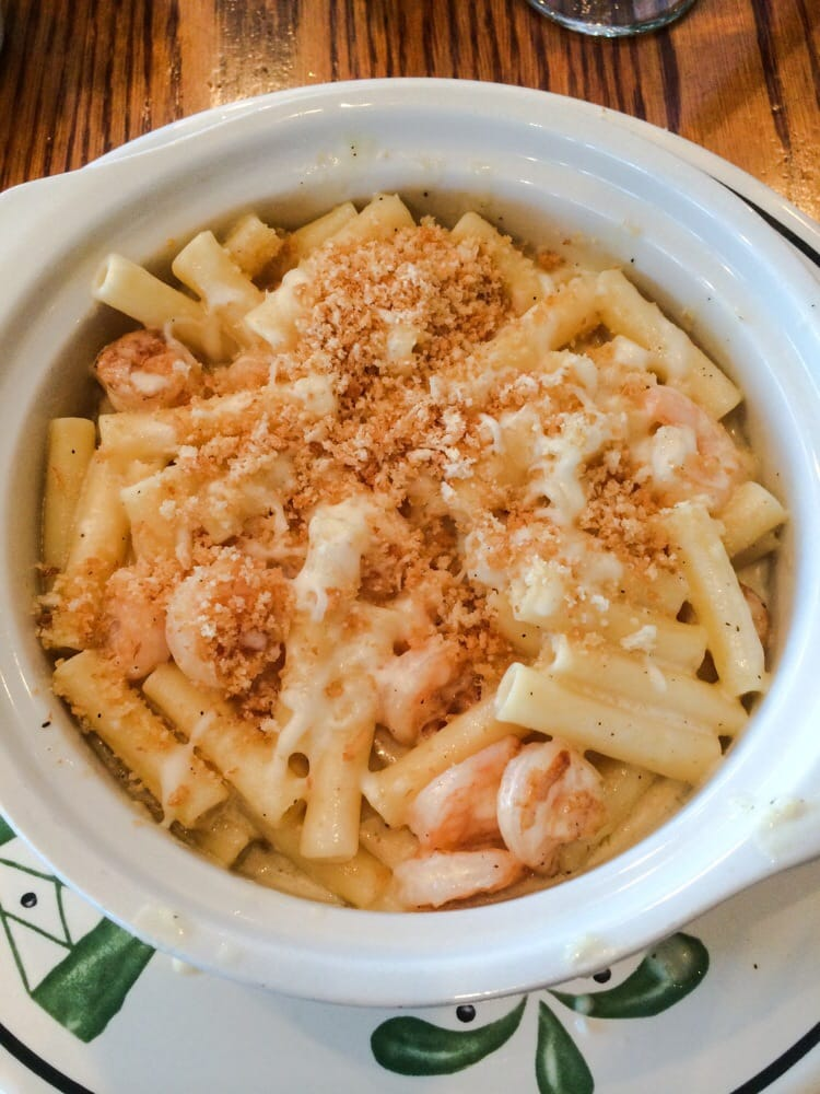 Baked Parmesan Shrimp With Ziti Pasta Yelp