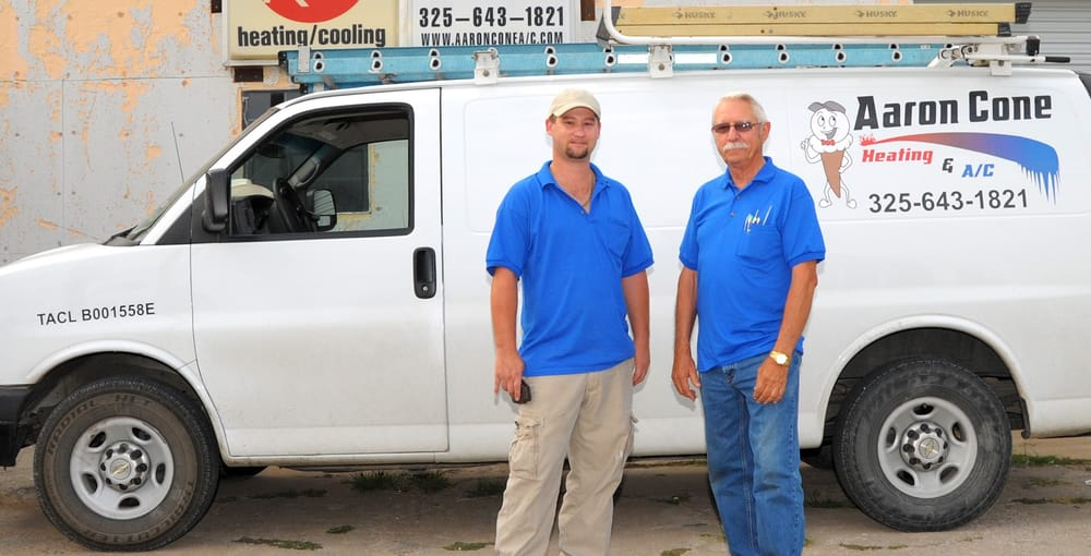 Aaron Cone Air Conditioning & Heating: 2100 Coggin Ave, Brownwood, TX
