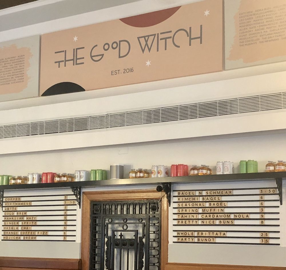 The Good Witch Coffee Bar: 134 Southside Ave, Hastings-On-Hudson, NY