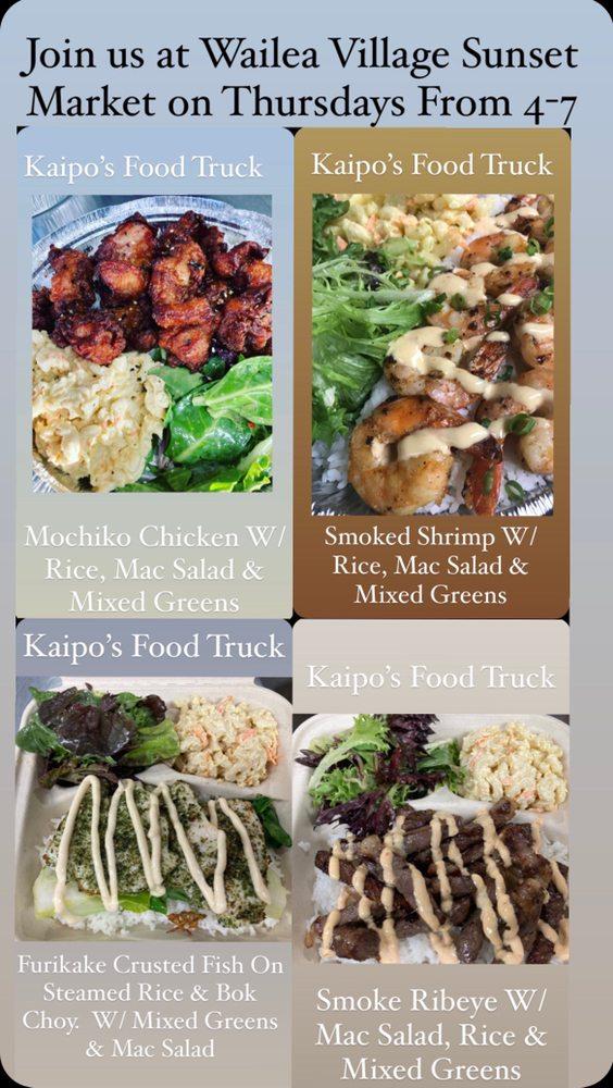 Kaipo's Food Truck: 222 Papalaua, Lahaina, HI