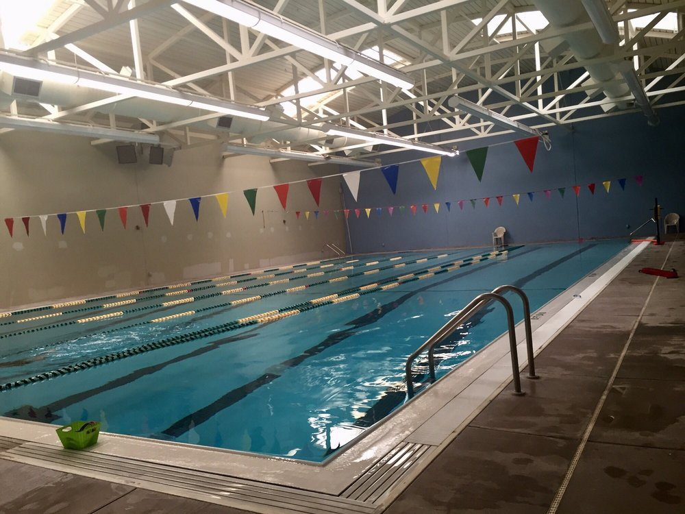 Swimming Pool At The Washington State School For The Blind