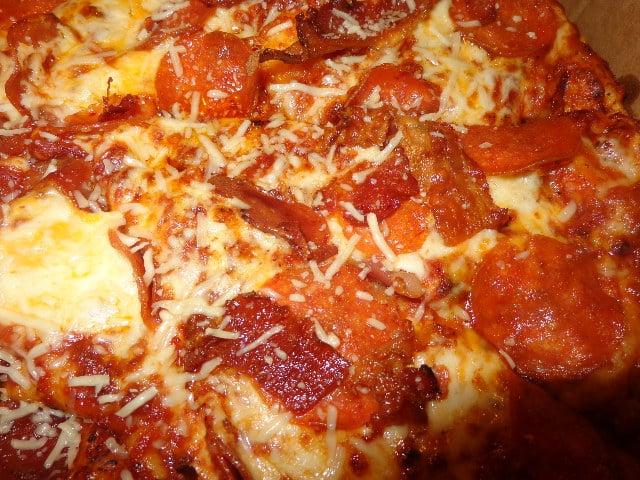 Photo Of Round Table Pizza   San Lorenzo, CA, United States. Crispy  Pepperoni