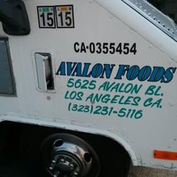 Avalon Foods Caterers Avalon Blvd South Park Los - Avalon truck