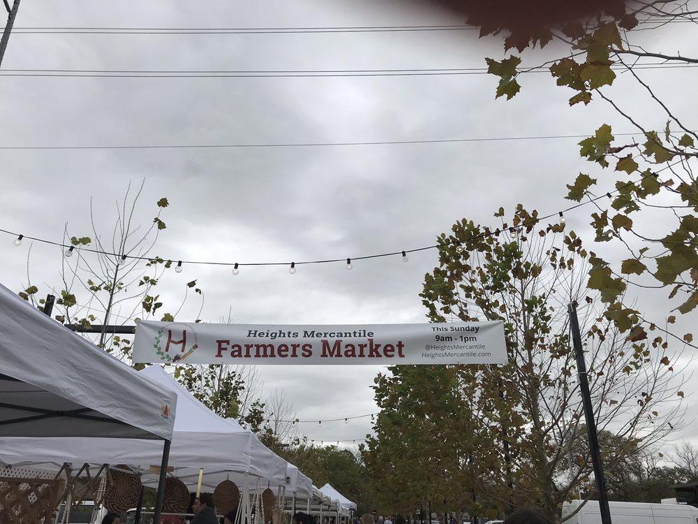 Heights Mercantile Farmers Market: 714 Yale St, Houston, TX