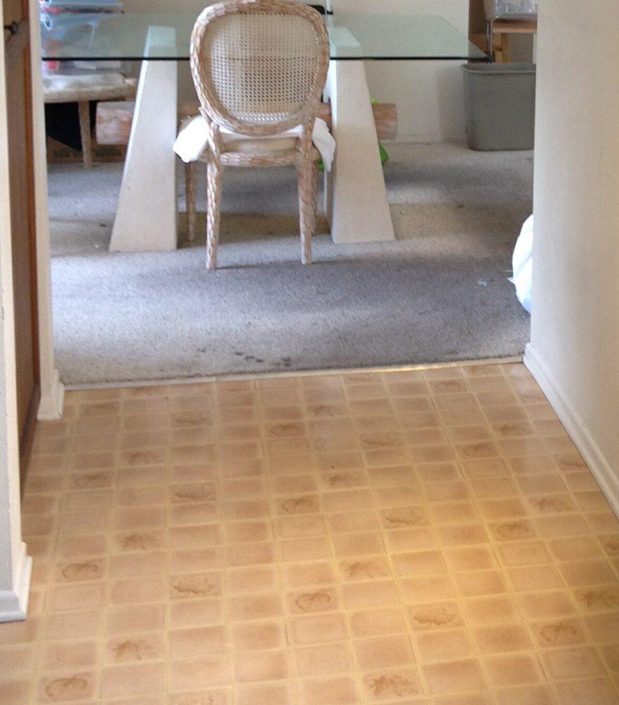 Old Linoleum And Carpet Floorings