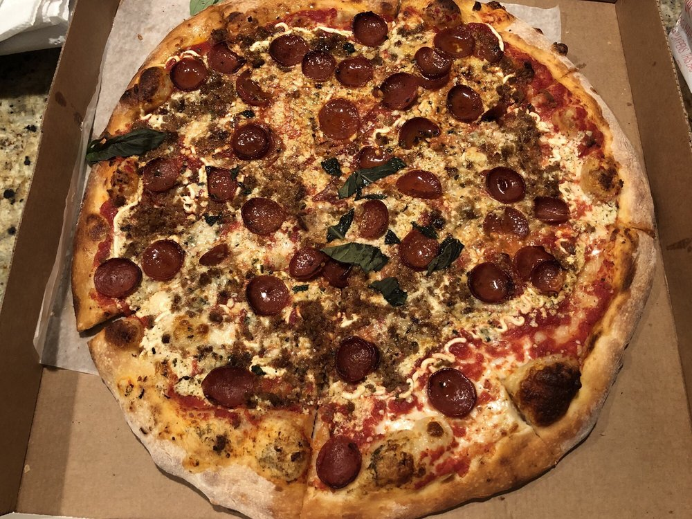 Cristino's Coal Oven Pizza: 1101 S Fort Harrison Ave, Clearwater, FL