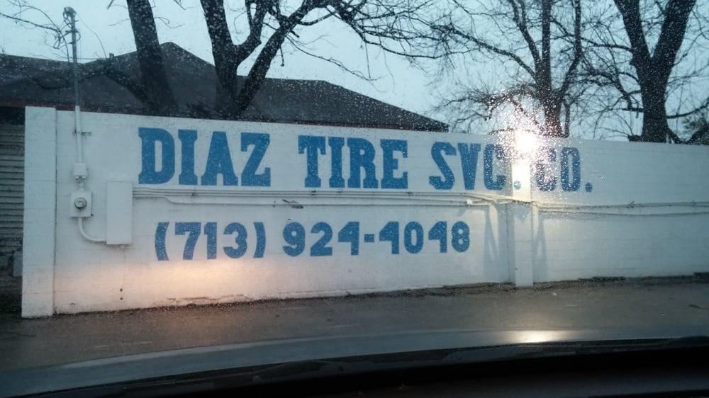 Diaz Tire Service: 217 S Lockwood Dr, Houston, TX