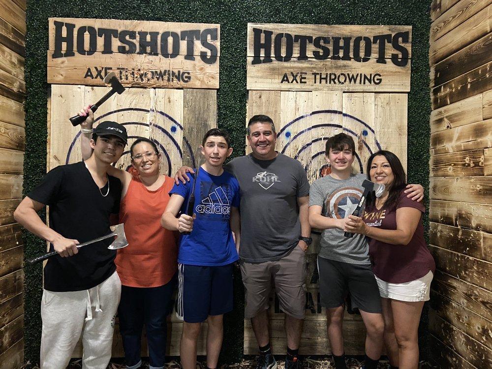 Hotshots Axe Throwing: 1290 N Scottsdale Rd, Tempe, AZ