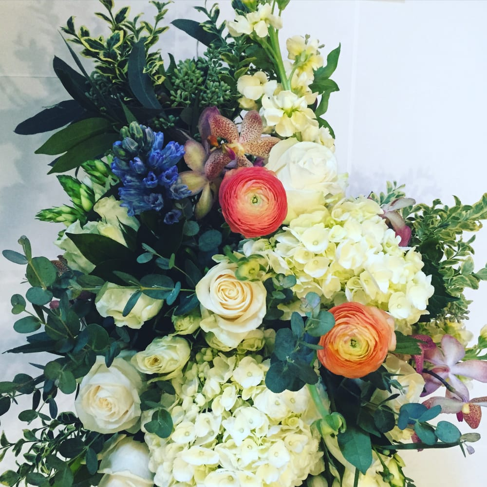 Hydrangea Ranunculus Hyacinth And Roses Perfect For Spring And