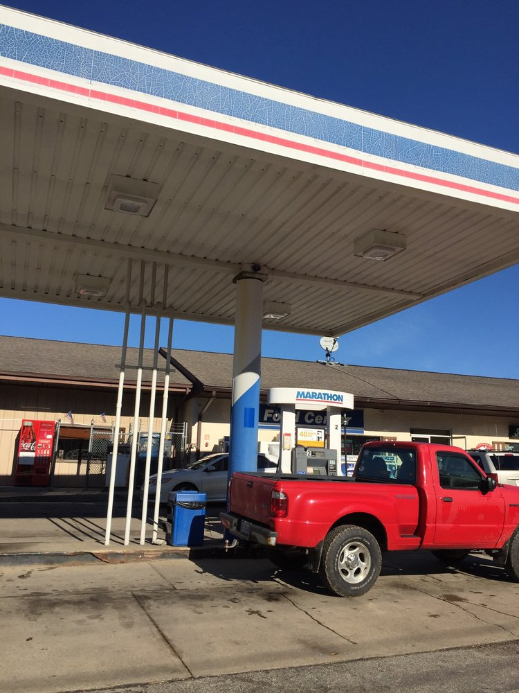 Marathon Gas: 8010 S Nineveh Rd, Nineveh, IN