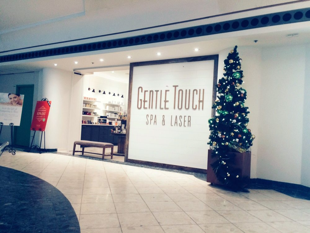 Entrance from the mall yelp for A gentle touch salon