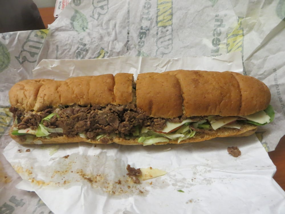 Great Philly cheese steak sandwich. - Review of Subway ...
