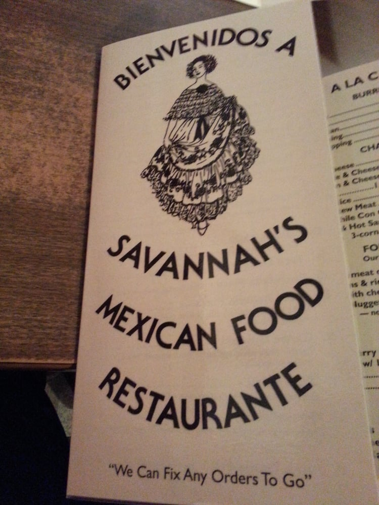 Savannahs Mexican Food Restaurant