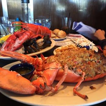 Photo Of Legal Sea Foods Paramus Nj United States The Stuffed Lobster