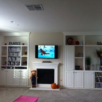 Tv Builtins 44 Photos 12 Reviews Cabinetry Temecula Ca