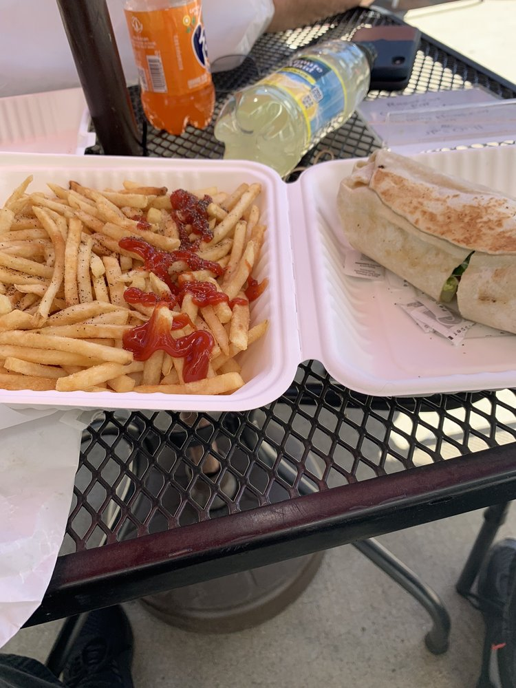 Food from JP's Grill