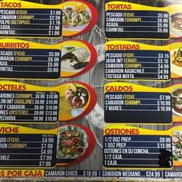 Photos for pescaderia mr fish menu yelp for Mr fish menu