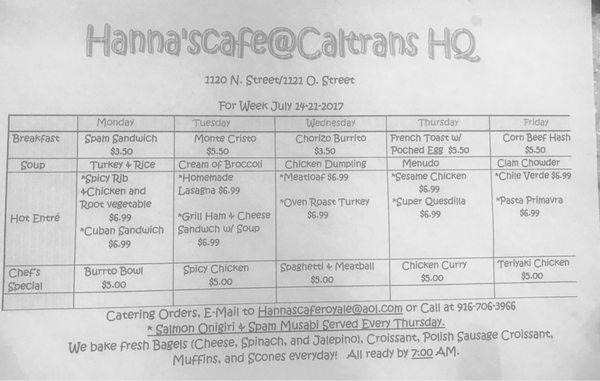 Hanna's Cafe - CLOSED - 1120 N St, Downtown, Sacramento, CA