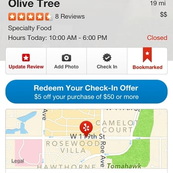 Olive tree discount coupons