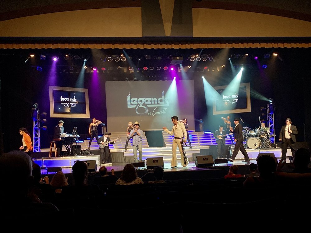 Legends In Concert: 1600 W Hwy 76, Branson, MO