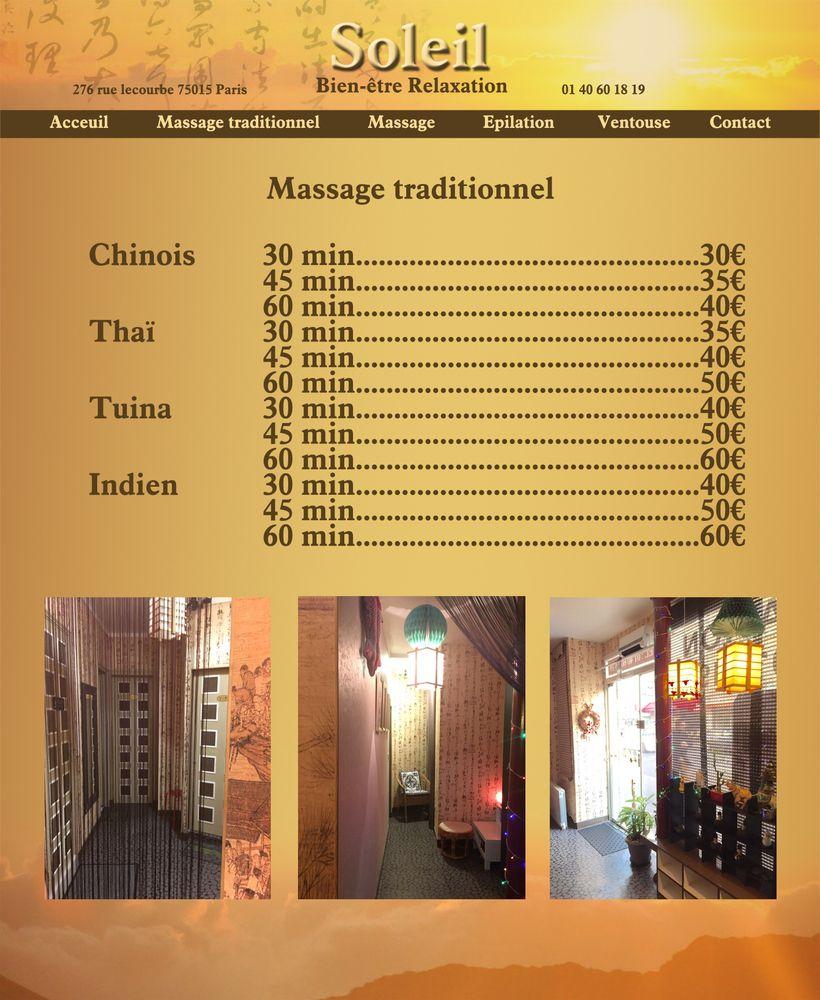soleil relaxation 18 fotos massage 276 rue lecourbe 15 me paris frankreich. Black Bedroom Furniture Sets. Home Design Ideas