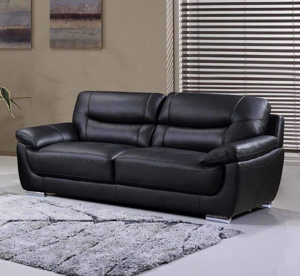 Genuine Leather Sectional Sofa Canada: Bryce Genuine Leather Sofa Https://www.palluccifurni­ture