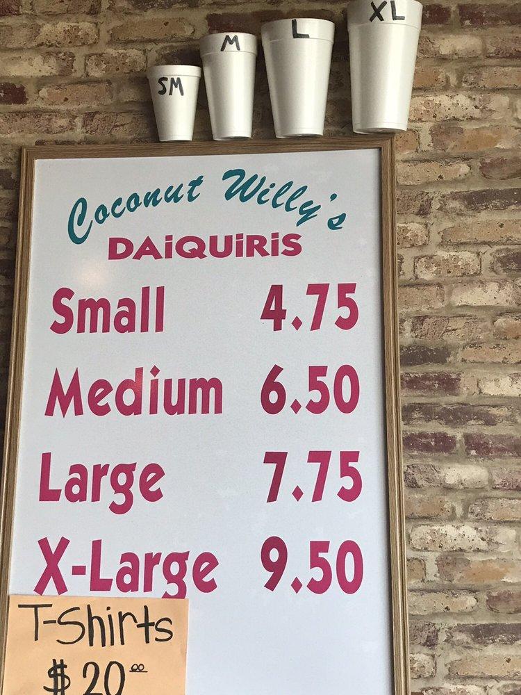 Coconut Willys Daiquiris