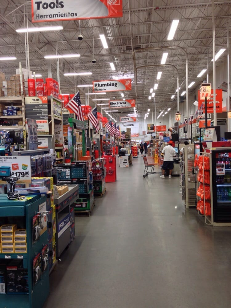 It may look like every other home depot on the inside but for Home depot garden design center