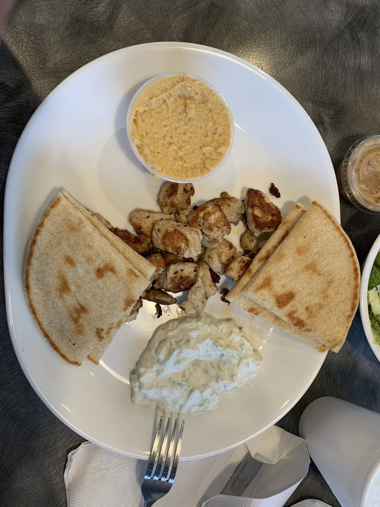 Food from Greek Guy's Grill