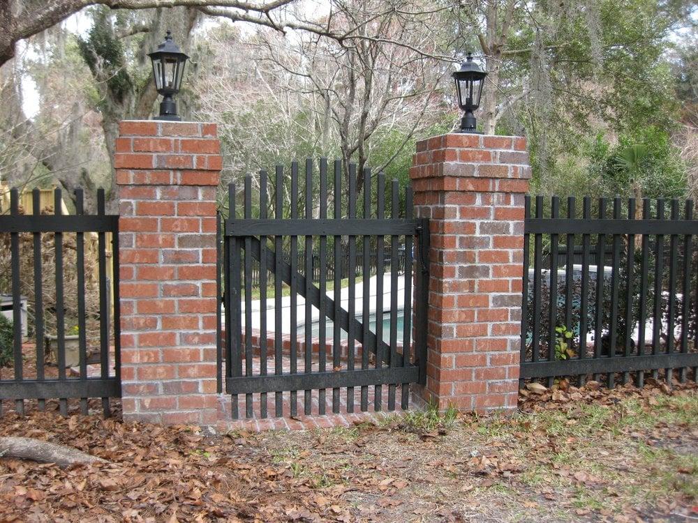 Photo Of Great Dane Contracting Charleston Sc United States Custom Picket Fence