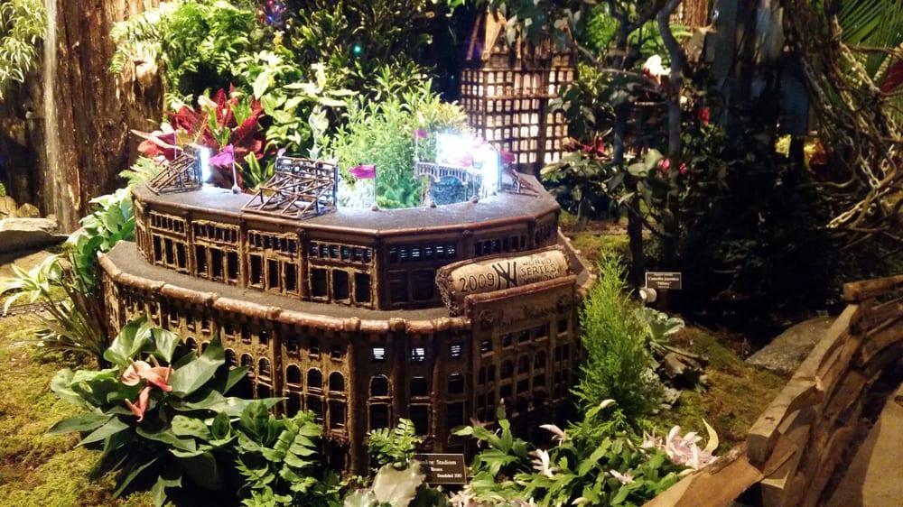 Photos for new york botanical garden holiday train show yelp for Ny botanical gardens train show