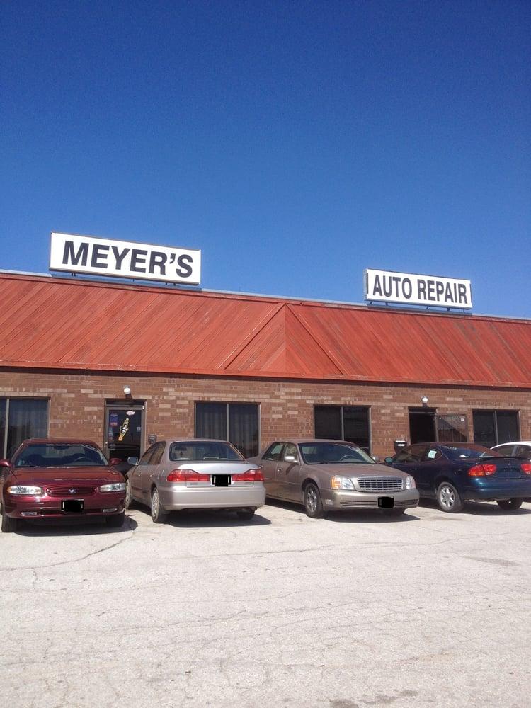 meyer s auto service auto repair 4530 s 140th st millard omaha ne united states phone. Black Bedroom Furniture Sets. Home Design Ideas