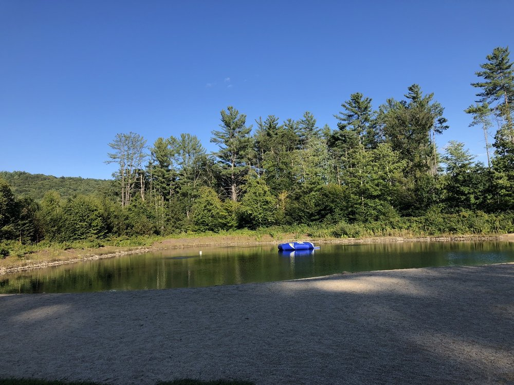 Crown Point Camping Area: 131 Bishop Camp Rd, Springfield, VT