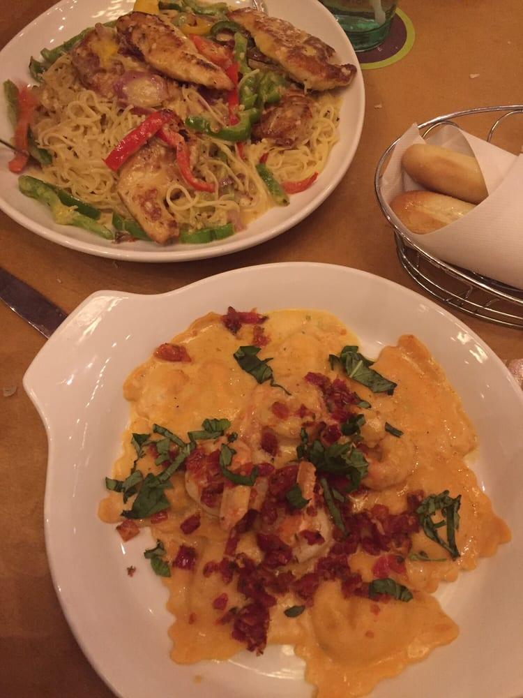 Lobster ravioli and chicken scampi yelp - Olive garden italian restaurant las vegas nv ...